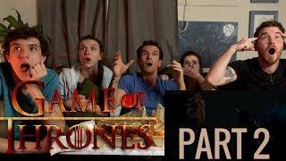 "Game of Thrones Season 8 Episode 3 ""The Long Night"" REACTION!! (Part 2)"
