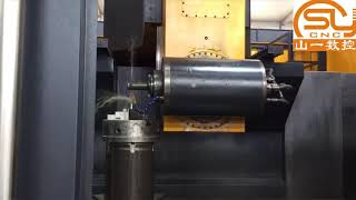 China brand cnc vertical milling machine center 5 axis for impeller, blade of aerospace industry