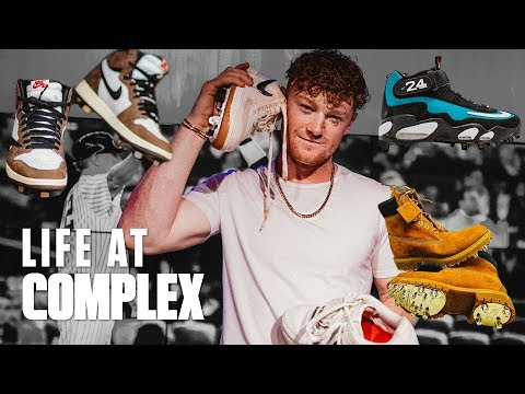 Clint Frazier Takes His Custom Baseball Cleats To Another Level! | #LIFEATCOMPLEX