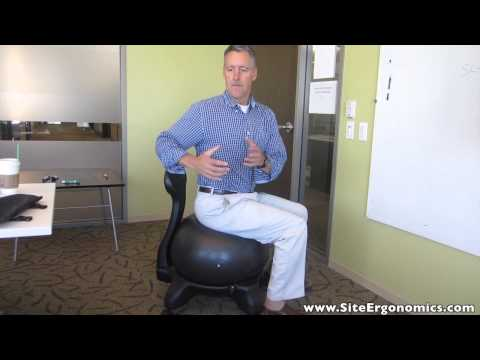The Ergonomics Guy - Why The Ball Chair May Not Be The Best Solution