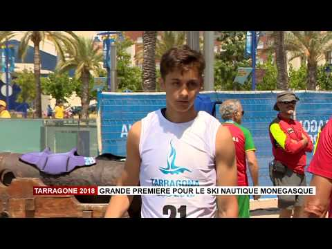 Tarragona 2018: Major first for Monegasque water skiing