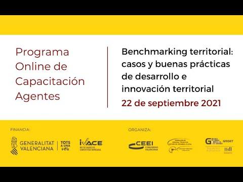 Benchmarking territorial: casos y buenas prácticas de desarrollo e innovación territorial[;;;][;;;]