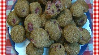 Strawberry Banana Mini Muffins Recipe ~ Noreens Kitchen