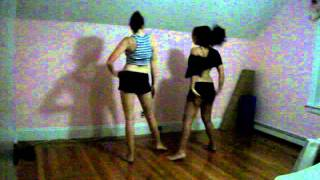 The Edge Of Glory dance (rehearsal)