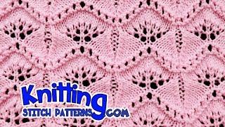 Ginkgo Leaf | Lace Knitting #19