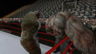 WWE ZOMBIE ROYAL RUMBLE ☆ Left 4 Dead 2 (L4D2 Zombie Games