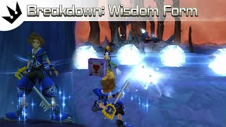 Drive Form Breakdown: Wisdom Form ~ Kingdom Hearts 2 Analysis