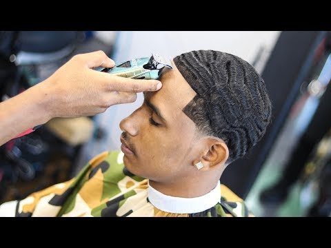 FRESHEST 360 WAVE HAIRCUT TUTORIAL: LOW TAPER
