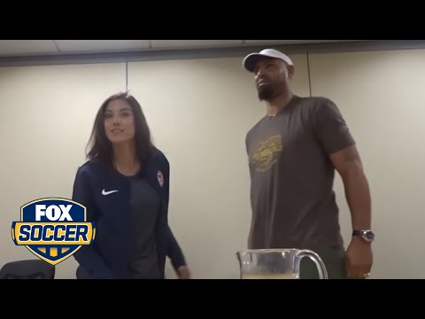 Hope Solo Reacts To Her U.S. Soccer Punishment | FOX SOCCER