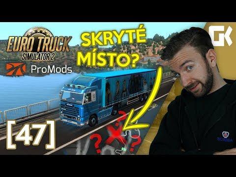 ODBOČIL JSEM DO NEZNÁMA A TOTO JSEM OBJEVIL! | Euro Truck Simulator 2 ProMods & RusMap #47