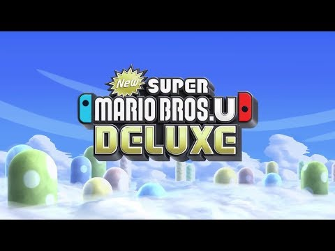 NEW Super Mario Bros U Deluxe!