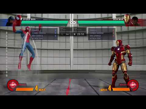 MvCI: Super Hop Varying Heights (Marvel Vs Capcom Infinite)