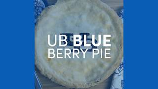 Directions for making a blueberry pie.