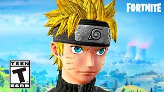 Naruto Arrives in Fortnite Season 8 (Fortnite Naruto Trailer)
