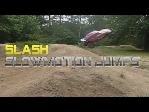 Traxxas Slash VXL Zeitlupe Slow-Motion JUMPS + DRIFTS mit Sound FX - Darconizer RC