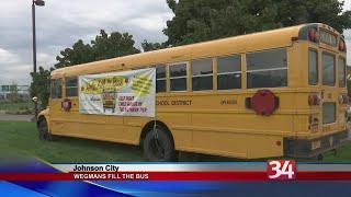 Wegmans Fill the Bus