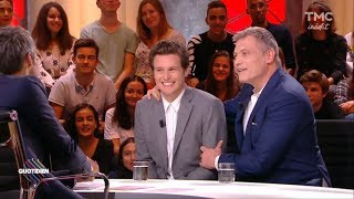 Jonathan Groff and Holt McCallany on Quotidien