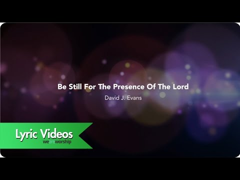 Be Still - Youtube Lyric Video