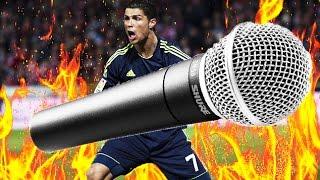 Криштиану Роналду выбросил микрофон  журналиста в озеро!