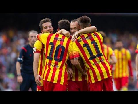 Barcelona vs Athletic Bilbao | All Goals & Highlights | FC Barcelona 2014/15 HD