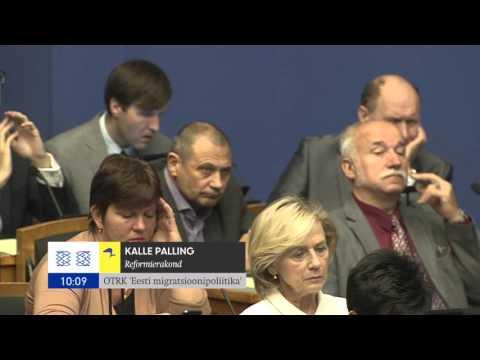 Riigikogu istung, 13.oktoober 2015