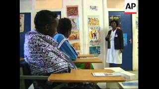 KENYA:NAIROBI: CAMPAIGN ON DANGERS OF ILLEGAL ABORTIONS