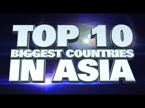 10 most populated countries in Asia 2014