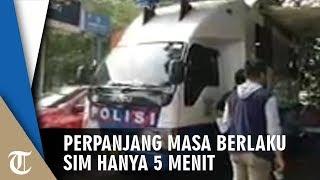 Perpanjang Masa Berlaku SIM Cuma 5 Menit di Bus Pelayanan SIM Keliling Jakarta Pusat