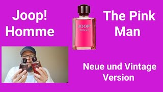 The Pink Man | Joop Homme Aktuelle & Vintage Version | Fragrance Dawg