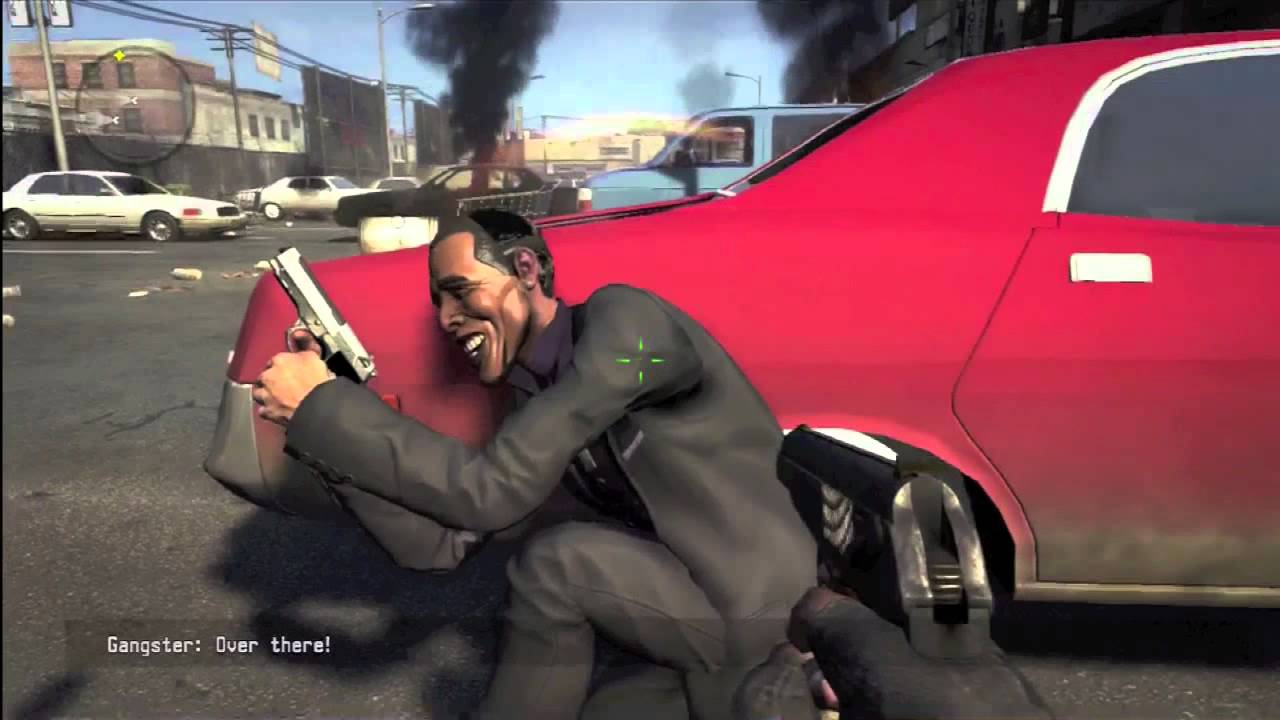 Obama Kicks Drug-Dealer Arse In This Video Game