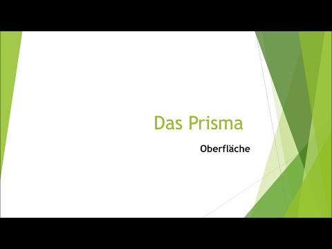 Cover: Video mit Fragen  - Oberfläche des Prismas - YouTube
