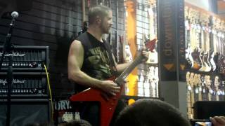 ANNIHILATOR JEFF WATERS PLAYS THE FUN PALACE LIVE