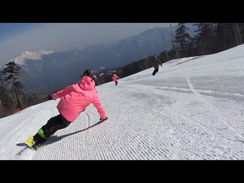 Alpine  Free Style  Snowboard  Carving in Ciao