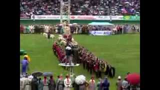 preview picture of video 'Naadam - Ulaanbaator - 2009 Opening Ceremonies'