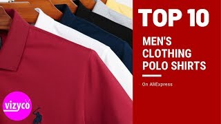 Mens Clothing Polo Shirts Top 10 On AliExpress