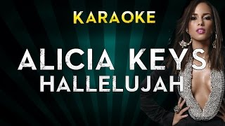 Alicia Keys - Hallelujah | Official Instrumental Karaoke Instrumental Lyrics Cover Sing