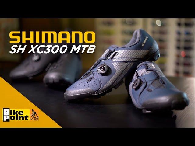 Видео Велотуфли женские Shimano SH-XC300WL черные