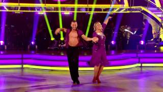 Fern Britton & Artem Chigvintsev - Cha Cha - Week 1 - Strictly Come Dancing 2012