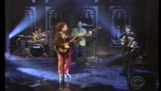 Ani DiFranco on Letterman in 1998 - Little Plastic Castle