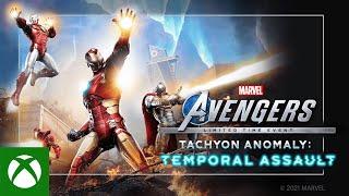 Xbox Marvel's Avengers Tachyon Anomaly Event - Trailer anuncio