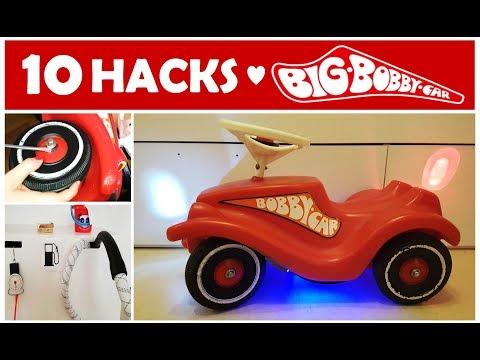 10 Bobby Car Hacks | Mom Hacks | BIG Bobby Car | Pimp your Bobby Car
