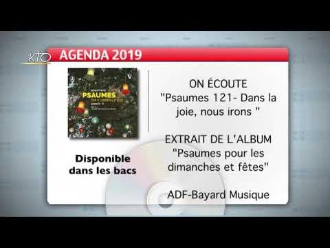 Agenda du 25 novembre 2019