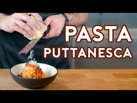 Binging with Babish: Pasta Puttanesca from Lemony Snicket's A Series of Unfortunate Events