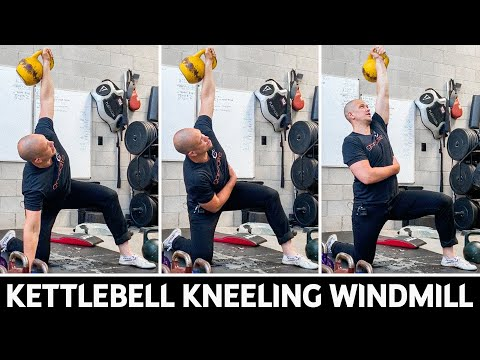 Kettlebell Kneeling Windmill
