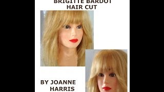 How to do a Brigitte Bardot Hair Cut Easy Simple with my original pinch cut method Sexiest ever!