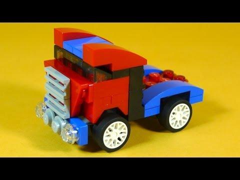 Vidéo LEGO Creator 31000 : Le mini bolide