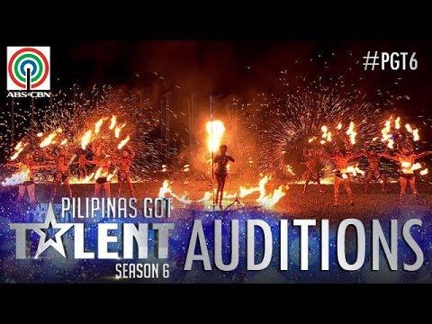 Pilipinas Got Talent 2018 Auditions: Dancing Fire Warriors - Fire Dance