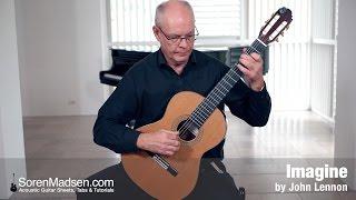 Imagine by John Lennon - Danish Guitar Performance - Soren Madsen