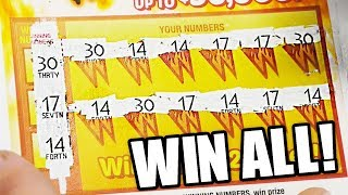 MANUAL WIN ALL! TWO'S ON TUESDAYS! Michigan Lottery Scratch Offs