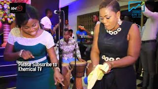 Opiesie Esther And  Brother Sammy Storms The Stage @ Worship With The Widows Full Video
